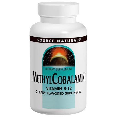 SOURCE NATURALS - MethylCobalamin 1 mg Cherry Lozenge