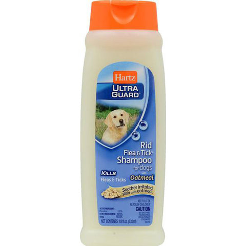 HARTZ - UltraGuard Rid Flea & Tick Dog Shampoo with Oatmeal