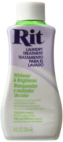 RIT DYE - Liquid Fabric Dye Whitener and Brightener