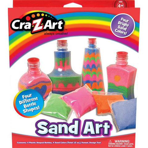 CRA-Z-ART - Sand Art Kit Kids Craft Kit