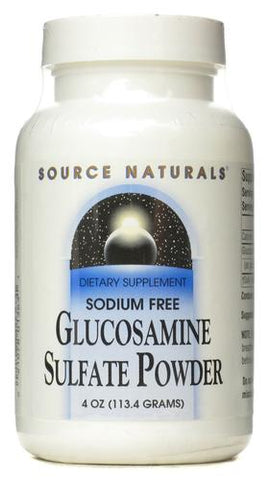 Source Naturals Glucosamine Sulfate 1 12 Powder