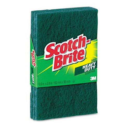 SCOTCH BRITE - Heavy Duty Scour Pads 223