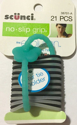 SCUNCI - No Slip Grip Evolution Ponytail Holder