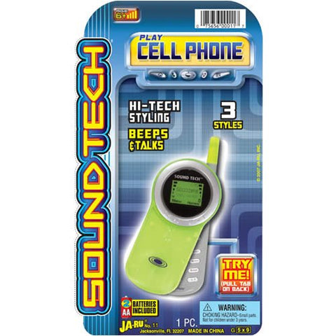 "JA-RU - C-4 Sound Tech Cell Phone 5"" x 9"""