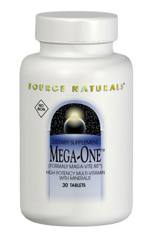 Source Naturals Mega One Multiple Iron Free