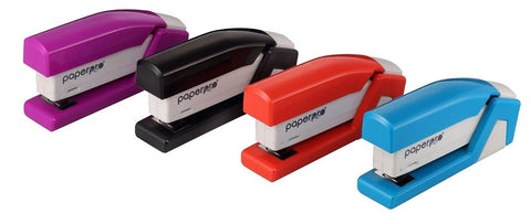 PAPER PRO - Compact Desktop Stapler, Assorted Colors