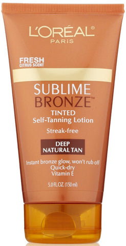 L'OREAL - Sublime Bronze Self-Tanning Lotion Deep Natural Tan