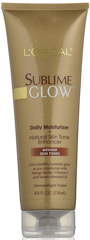 L'OREAL - Sublime Daily Moisturizer + Natural Skin Tone Enhancer Medium