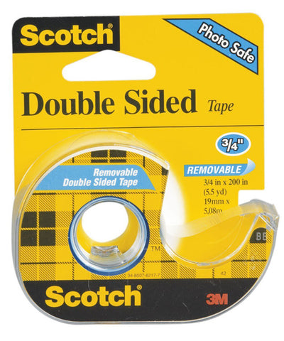 SCOTCH - Double Sided Removable Tape