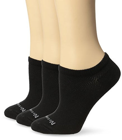 NO NONSENSE - Soft and Breathable Ventilated No Show Liner Socks Black