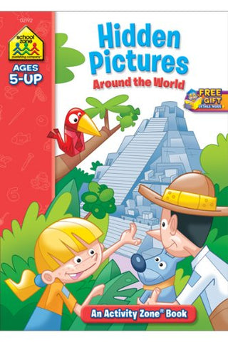 SCHOOL ZONE - Hidden Pictures Discovery Activity Zone Workbook