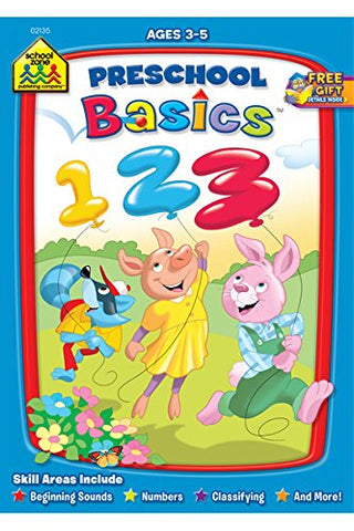 SCHOOL ZONE - Preschool Basics Workbook