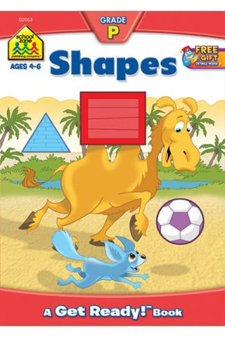 SCHOOL ZONE - Shapes Workbook Grade P