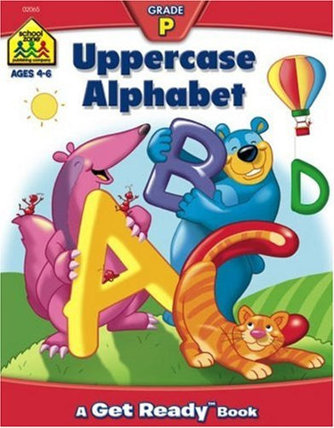 SCHOOL ZONE - Uppercase Alphabet Workbook