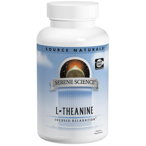 SOURCE NATURALS - Serene Science L-Theanine 200 mg