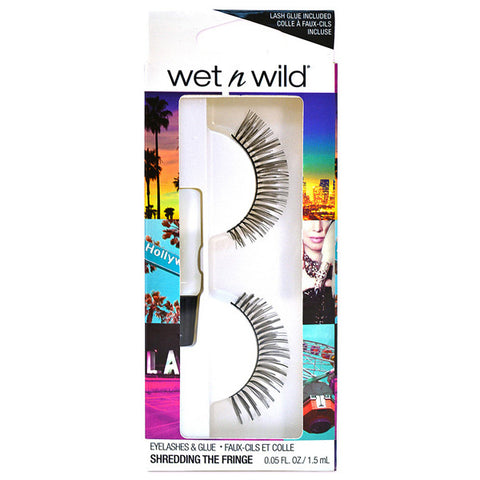 WET N WILD - Eyelashes & Glue Shredding the Fringe