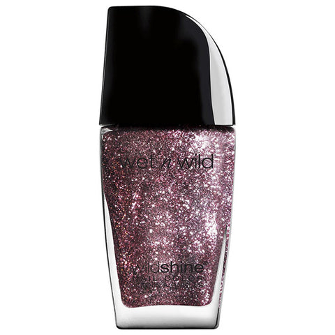 WET N WILD - Wild Shine Nail Color #480C Sparked