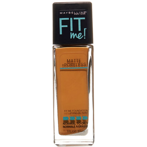 MAYBELLINE - Fit Me Matte Plus Poreless Foundation Cappuccino
