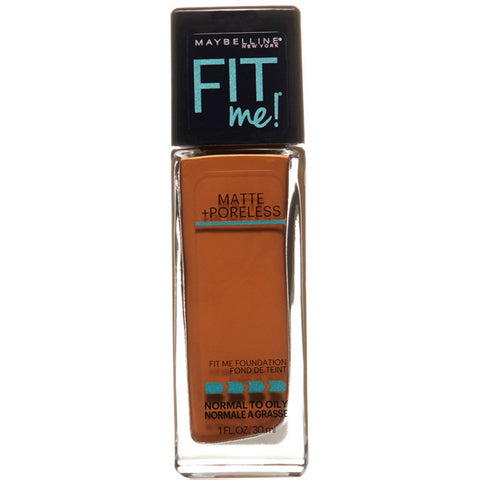 MAYBELLINE - Fit Me Matte Plus Poreless Foundation #360 Mocha