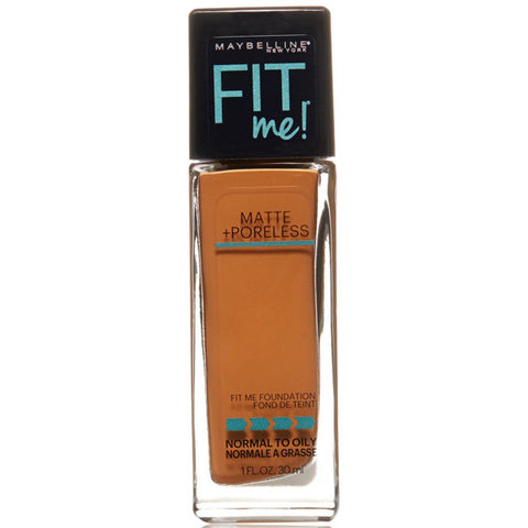 MAYBELLINE - Fit Me Matte Plus Poreless Foundation #338 Spicy Brown
