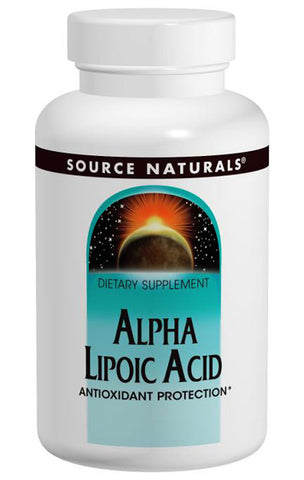 Source Naturals Alpha Lipoic Acid 100 mg