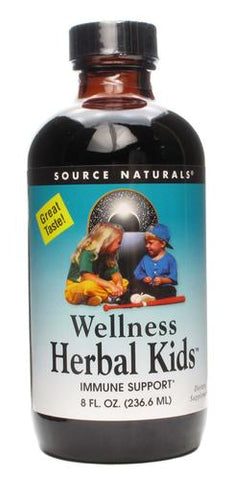 Source Naturals Wellness Herbal Kids Liquid