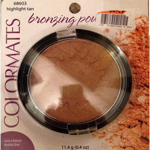 COLORMATES - Bronzing Powder Highlight Tan