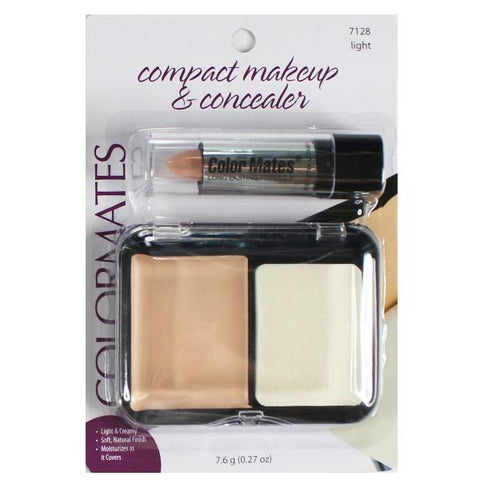 COLORMATES - Compact Makeup & Concealer Light