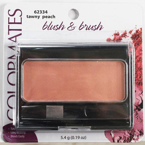 COLORMATES - Blush & Brush Tawny Peach