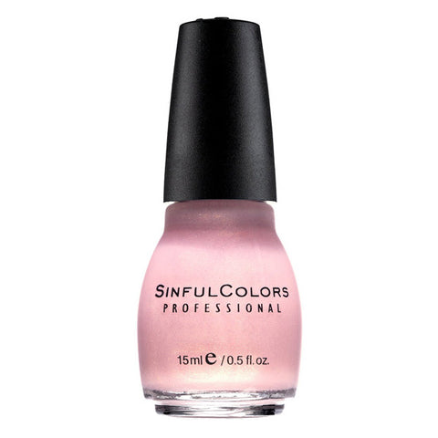SINFUL COLORS - Professional Nail Polish #376 Glass Pink
