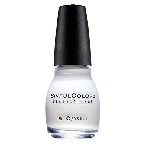 SINFUL COLORS - Professional Nail Polish #101 Snow Me White