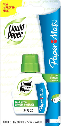 PAPER MATE - Liquid Paper Correction Fluid
