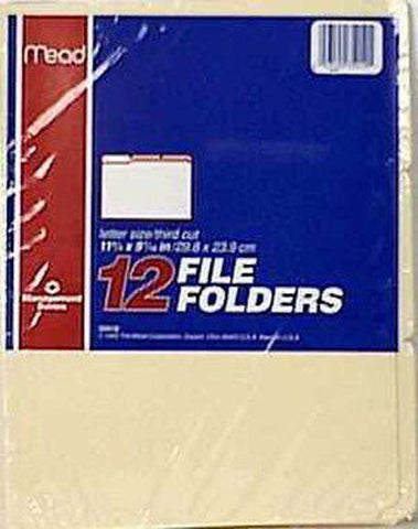 OXFORD - Manila File Folders Letter Size