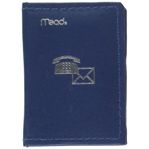 MEAD - Address Book Padded 3.25 In. x 2.37 In.