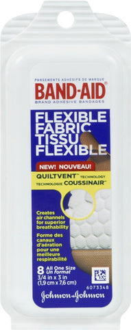 BAND-AID - Flexible Fabric Adhesive Bandages Travel Pack