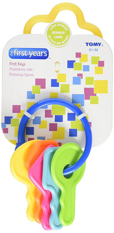 THE FIRST YEARS - Larning Curve First Keys Teether