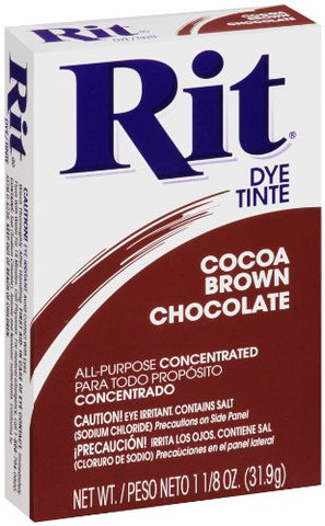 RIT DYE - Powder Dye Cocoa Brown