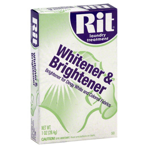 RIT DYE - Laundry Treatment Whitener and Brightener