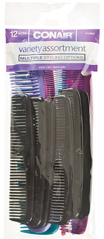CONAIR - Styling Essentials Assorted Combs
