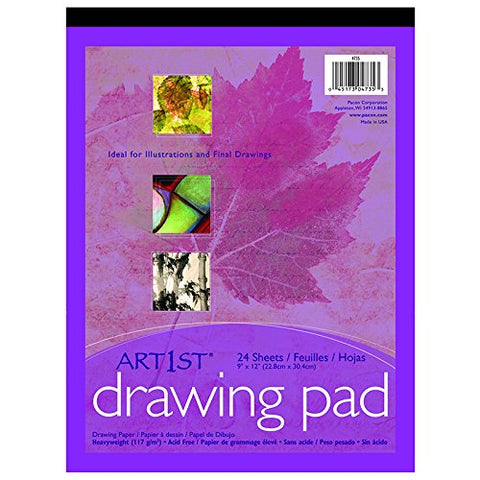 "PACON - Drawing Pad 9"" x 12"""