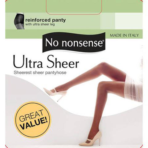 NO NONSENSE - Ultra Sheer Pantyhose Off Black Size D