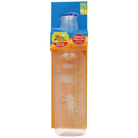EVENFLO FEEDING - Zoo Friends Bottle Pegable with Standard Nipple