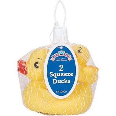 BABY KING - Bath Squeeze Toy Play Ducks