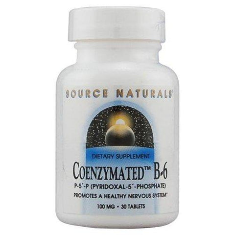 Source Naturals Coenzymated B 6 100 mg
