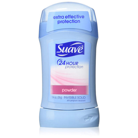 SUAVE - 24 Hour Protection Anti-Perspirant Invisible Solid Powder