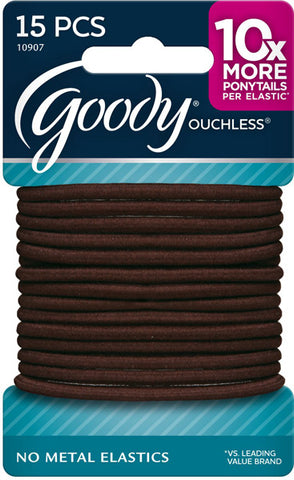 GOODY - Ouchless No Metal Elastics Brown