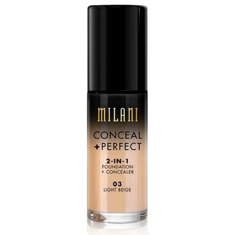 MILANI - Conceal + Perfect 2-in-1 Foundation Concealer Light Beige