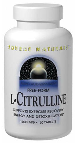 Source Naturals L Citrulline 1000 mg