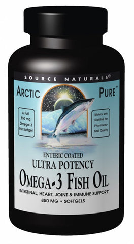 Source Naturals ArcticPure Enteric Coated Omega 3 Fish Oil