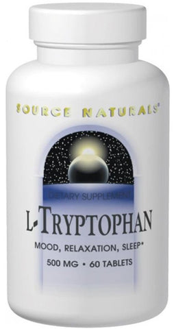 Source Naturals L Tryptophan 500 mg